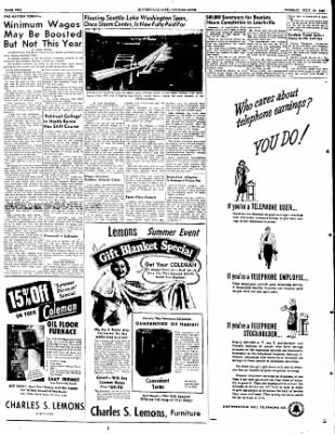 The Courier News from Blytheville, Arkansas on July 19, 1949 · Page 2