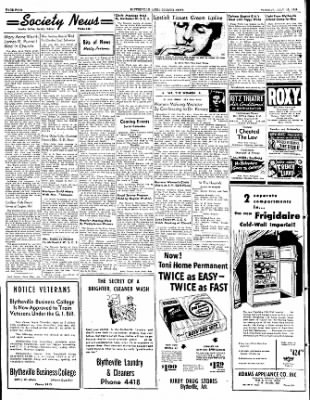The Courier News from Blytheville, Arkansas on July 19, 1949 · Page 4
