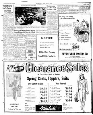 The Courier News from Blytheville, Arkansas on April 9, 1947 · Page 3