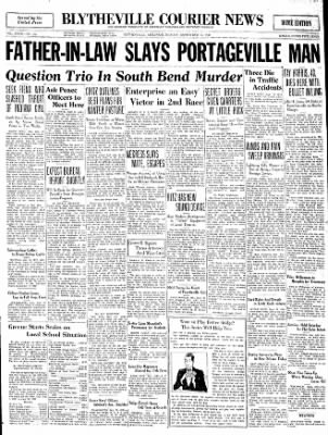 The Courier News from Blytheville, Arkansas on September 15, 1930 · Page 1