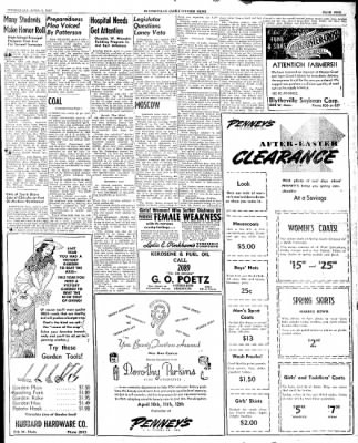 The Courier News from Blytheville, Arkansas on April 9, 1947 · Page 5