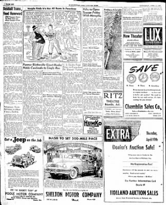 The Courier News from Blytheville, Arkansas on April 9, 1947 · Page 6