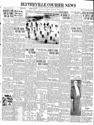 The Courier News from Blytheville, Arkansas on April 13, 1938 · Page 1