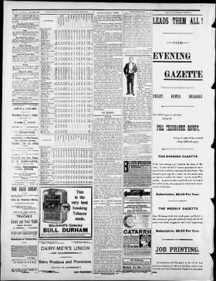 Evening Gazette datant message d'introduction en ligne de rencontres