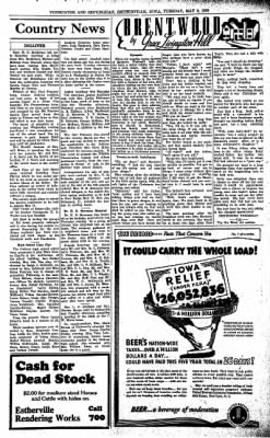 Estherville Daily News from Estherville, Iowa on May 9, 1939 · Page 6