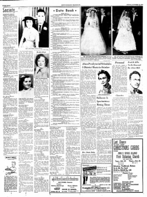 Alton Evening Telegraph from Alton, Illinois on October 19, 1956 · Page 8