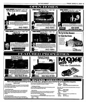 Ukiah Daily Journal from Ukiah, California on March 5, 2004 · Page 25