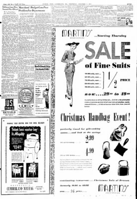 Cumberland Evening Times from Cumberland, Maryland on December 8, 1948 · Page 7