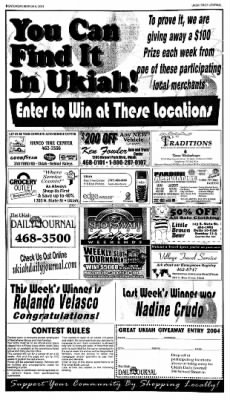 Ukiah Daily Journal from Ukiah, California on March 6, 2004 · Page 8