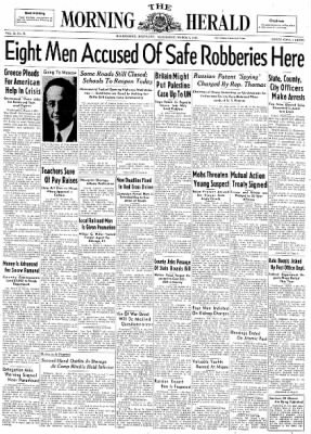 The Morning Herald from Hagerstown, Maryland on March 5, 1947 · Page 1