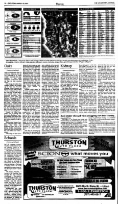 Ukiah Daily Journal from Ukiah, California on March 6, 2004 · Page 14