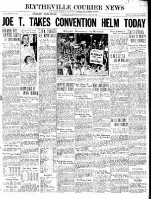 The Courier News from Blytheville, Arkansas on June 25, 1936 · Page 1