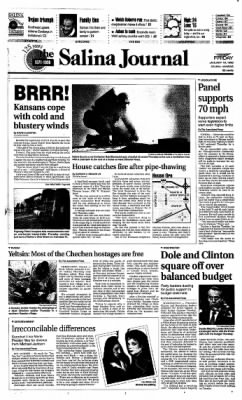 The Salina Journal from Salina, Kansas on January 19, 1996 · Page 1