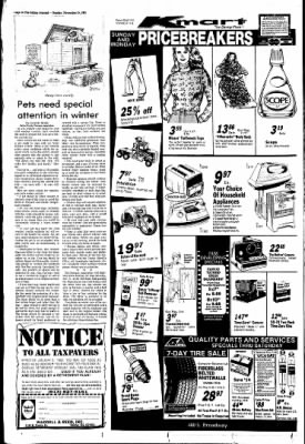 The Salina Journal from Salina, Kansas on November 15, 1981 · Page 34