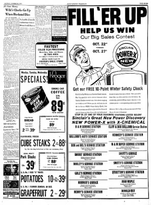 Alton Evening Telegraph from Alton, Illinois on October 22, 1956 · Page 7