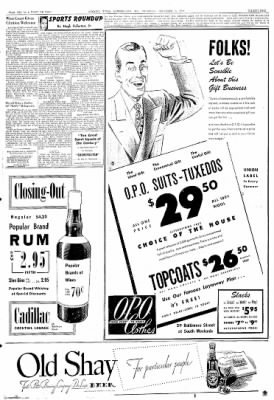 Cumberland Evening Times from Cumberland, Maryland on December 9, 1948 · Page 31