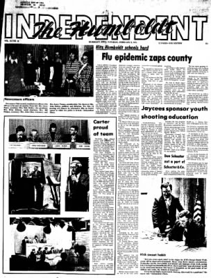 The Humboldt Independent from Humboldt, Iowa on February 2, 1974 · Page 1