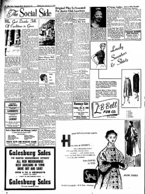 Galesburg Register-Mail from Galesburg, Illinois on October 7, 1953 · Page 9