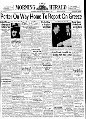 The Morning Herald from Hagerstown, Maryland on March 17, 1947 · Page 1