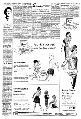 Redlands Daily Facts from Redlands, California on June 26, 1963 · Page 3