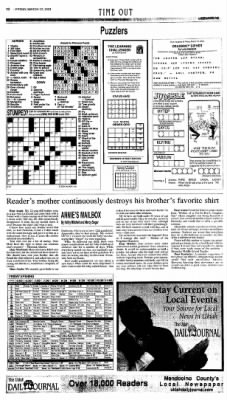 Ukiah Daily Journal from Ukiah, California on March 12, 2004 · Page 10