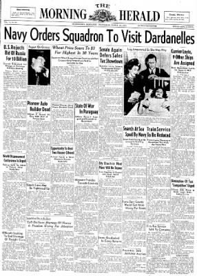 The Morning Herald from Hagerstown, Maryland on March 19, 1947 · Page 1