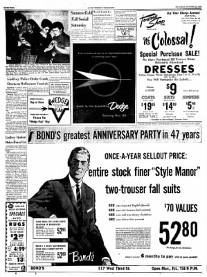 Alton Evening Telegraph from Alton, Illinois on October 25, 1956 · Page 4