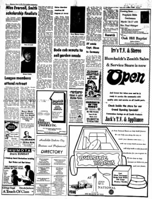 The Humboldt Independent from Humboldt, Iowa on March 2, 1974 · Page 2