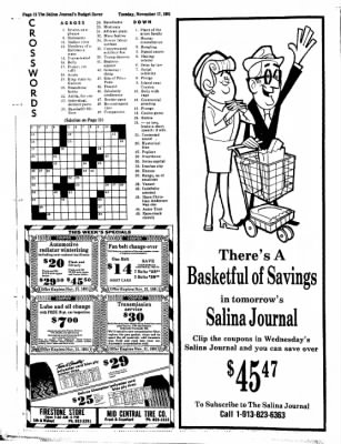 The Salina Journal from Salina, Kansas on November 17, 1981 · Page 28