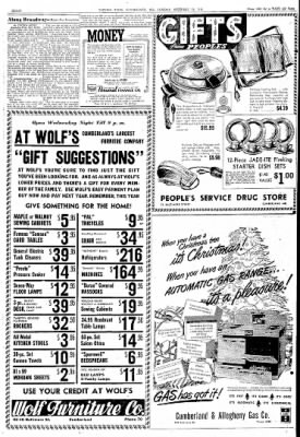 Cumberland Evening Times from Cumberland, Maryland on December 14, 1948 · Page 8