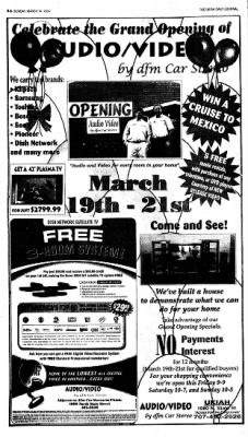 Ukiah Daily Journal from Ukiah, California on March 14, 2004 · Page 20