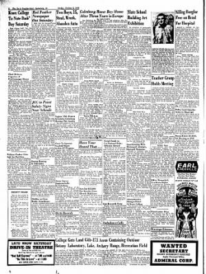 Galesburg Register-Mail from Galesburg, Illinois on October 9, 1953 · Page 2