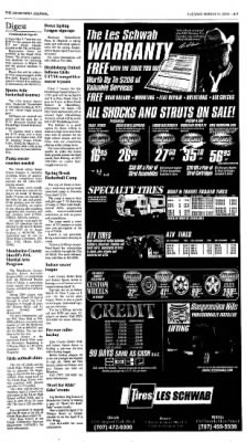 Ukiah Daily Journal from Ukiah, California on March 16, 2004 · Page 7