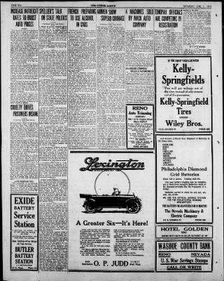 Reno Gazette-Journal from Reno, Nevada on June 1, 1918 · Page 10