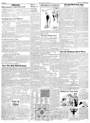 Alton Evening Telegraph from Alton, Illinois on October 27, 1956 · Page 4