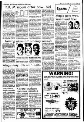 The Salina Journal from Salina, Kansas on November 20, 1981 · Page 11