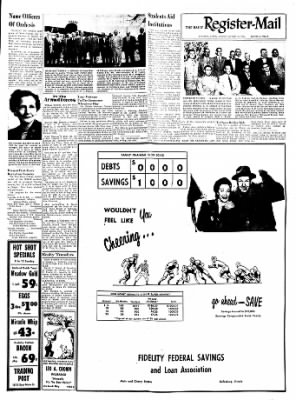 Galesburg Register-Mail from Galesburg, Illinois on October 10, 1953 · Page 9