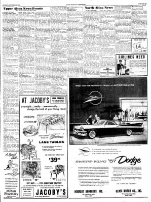 Alton Evening Telegraph from Alton, Illinois on October 29, 1956 · Page 11