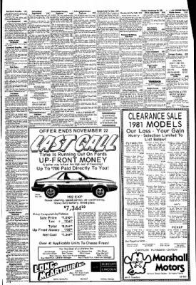 The Salina Journal from Salina, Kansas on November 20, 1981 · Page 19