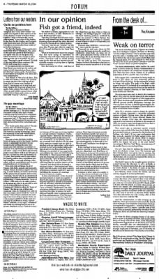 Ukiah Daily Journal from Ukiah, California on March 18, 2004 · Page 4