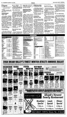 Ukiah Daily Journal from Ukiah, California on March 18, 2004 · Page 8