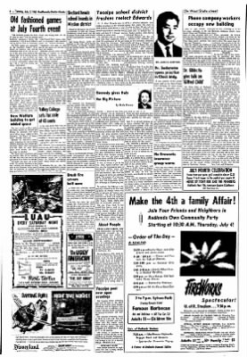 Redlands Daily Facts from Redlands, California on July 2, 1963 · Page 4