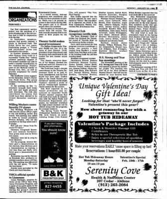 The Salina Journal from Salina, Kansas on January 22, 1996 · Page 19