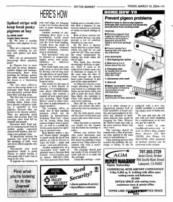 Ukiah Daily Journal from Ukiah, California on March 19, 2004 · Page 31