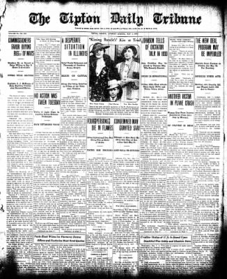 The Tipton Daily Tribune from Tipton, Indiana on May 7, 1935 · Page 1