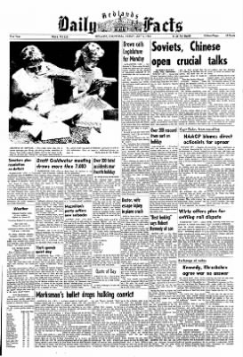 Redlands Daily Facts from Redlands, California on July 5, 1963 · Page 1