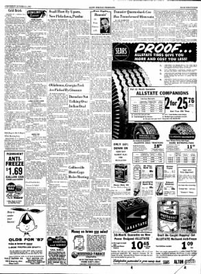 Alton Evening Telegraph from Alton, Illinois on October 31, 1956 · Page 21