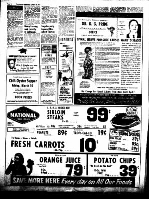The Humboldt Independent from Humboldt, Iowa on February 18, 1967 · Page 8