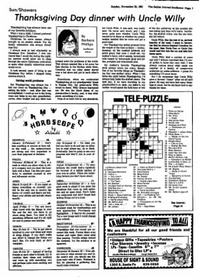 The Salina Journal from Salina, Kansas on November 22, 1981 · Page 51