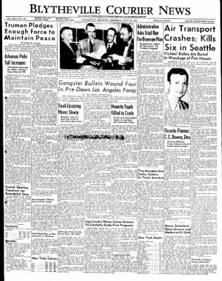 The Courier News from Blytheville, Arkansas on July 20, 1949 · Page 1